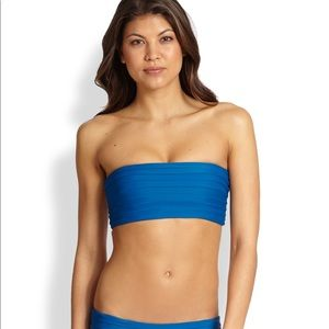Mikoh blue bandeau Top, small